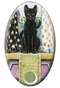 Tarot of the Pagan Cats The High Priestess Magnet